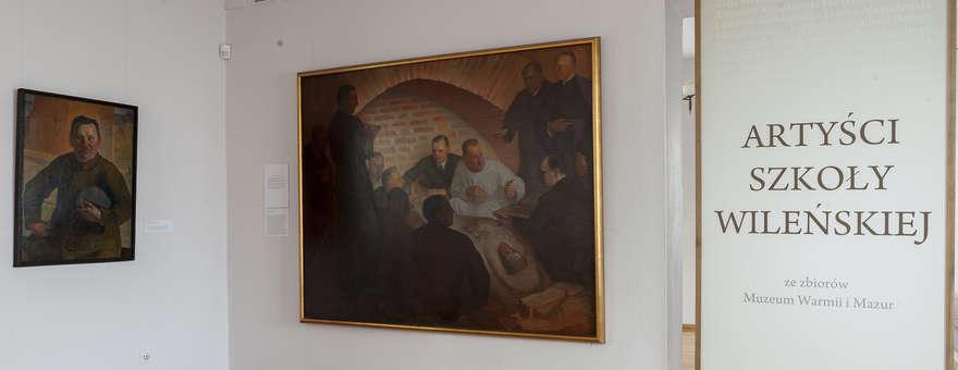Artyści z kręgu szkoły wileńskiej XIX/XX