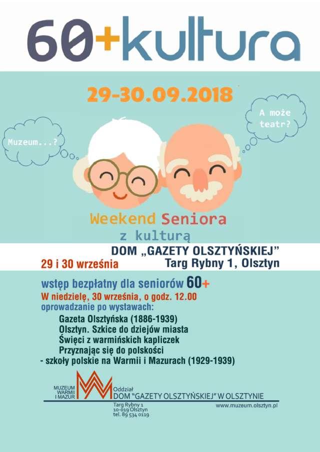 """""""60+Kultura"""" - Dom """"Gazety Olsztyńskiej"""" - full image"""