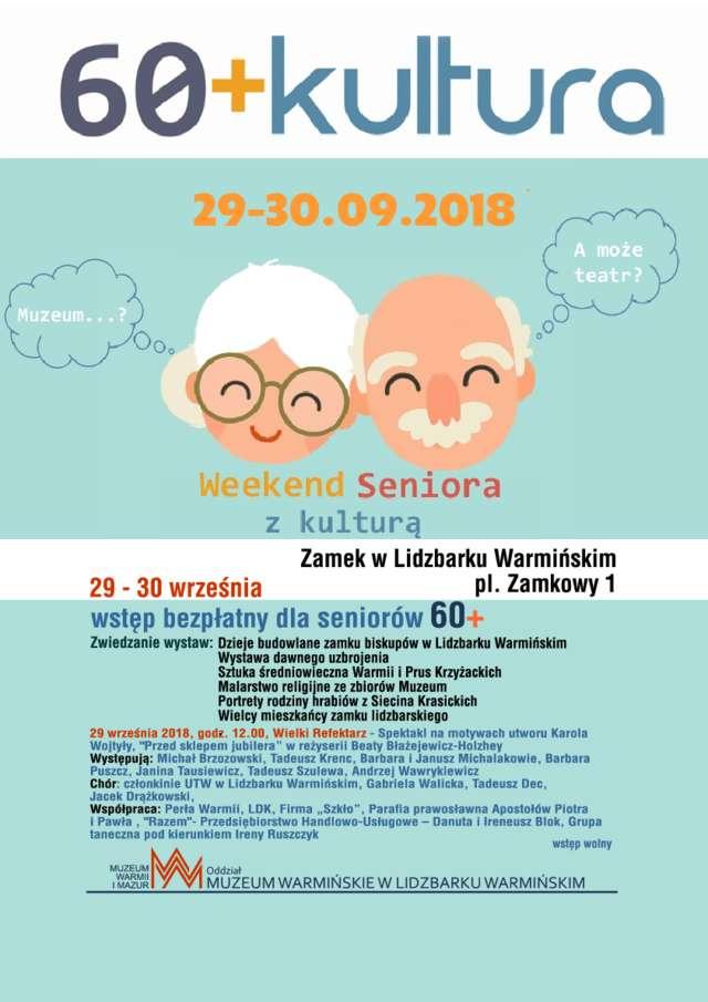 """""""60+Kultura"""" - Muzeum Warmińskie w Lidzbarku Warmińskim - full image"""