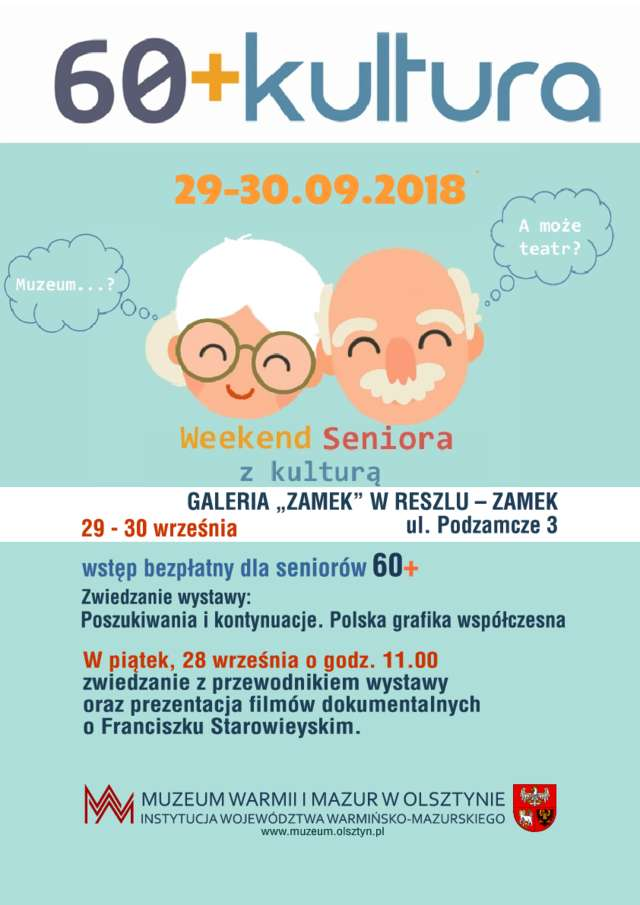 """60+Kultura"" - Galeria ""Zamek"" w Reszlu - full image"