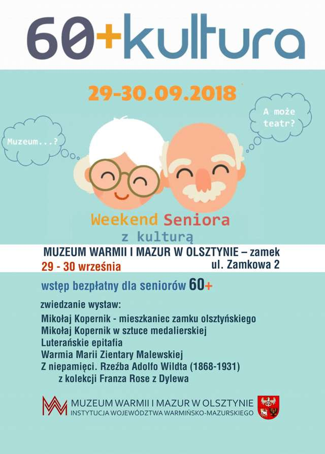 """""""60+Kultura"""" - Muzeum Warmii i Mazur w Olsztynie – zamek - full image"""