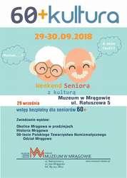 """""""60+Kultura"""" - Muzeum w Mrągowie"""