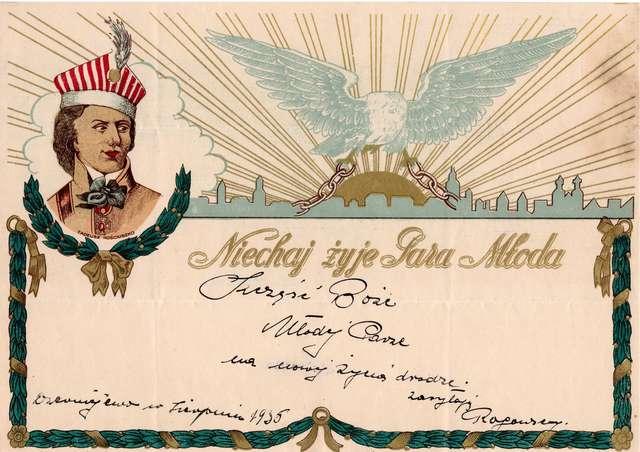 W służbie niepodległości. Telegramy patriotyczne 1895-1939  - full image