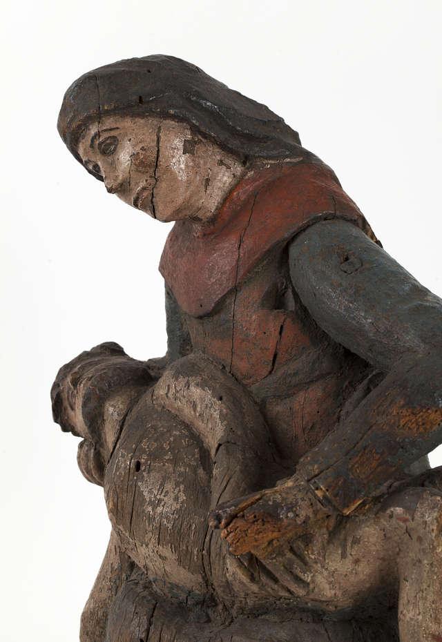 Konserwacja rzeźby ludowej – dziedzictwa kulturowego Warmii  - full image