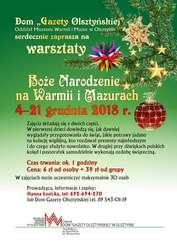 Warsztaty edukacyjne w Domu Gazety Olsztyńskiej