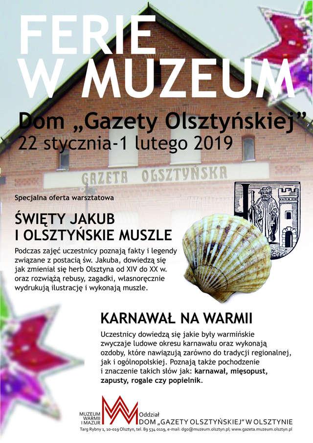 Ferie w Domu Gazety Olsztyńskiej - full image