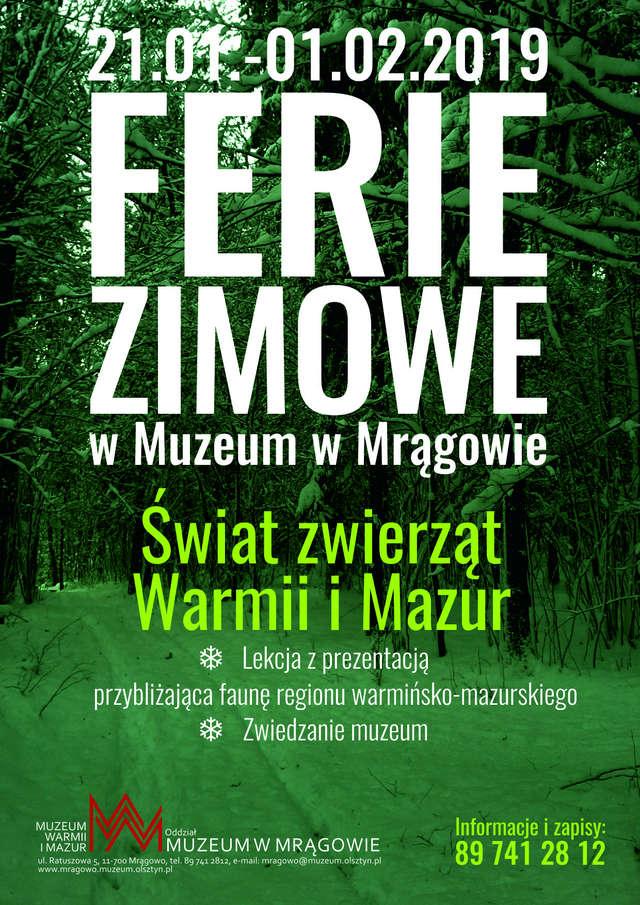 Ferie w muzeum w Mrągowie - full image