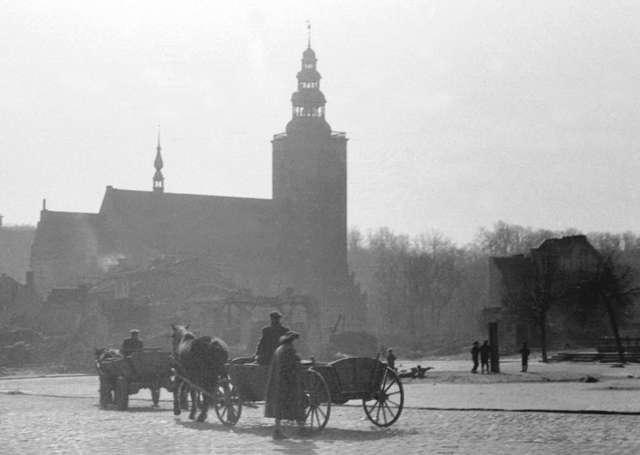 Lidzbark Warmiński lat 50. XX wieku. Fotografie – Władysław Ogrodziński - full image