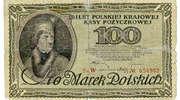 Tadeusz Kościuszko na pierwszych banknotach niepodległej Polski