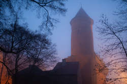 Wieża olsztyńskiego zamku niedostępna