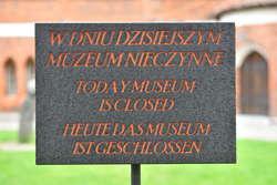 2 czerwca Muzeum nieczynne