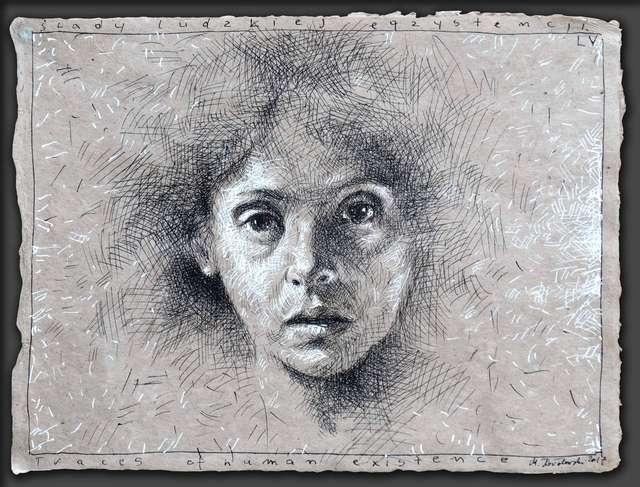 Mariusz Kałdowski. Ślady ludzkiej egzystencji –  rysunki - full image