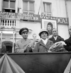 Walery Bykowski w grodzie nad Łyną