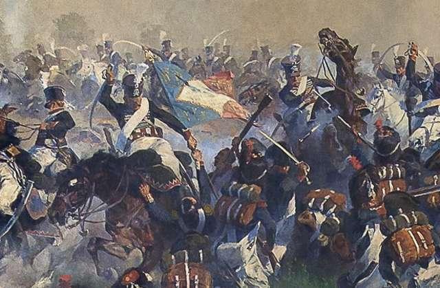 Anton Hoffman Bitwa pod Heilsbergiem - full image