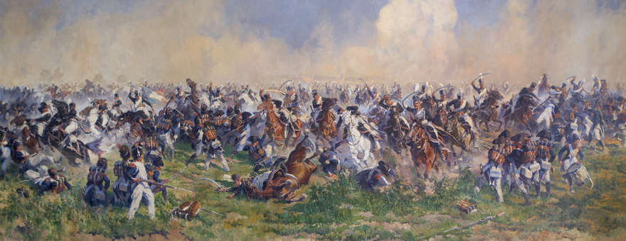 "Anton Hoffman ""Bitwa pod Heilsbergiem"""