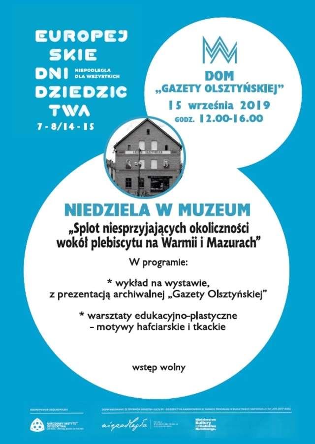 Splot niesprzyjających okoliczności wokół plebiscytu na Warmii i Mazurach - full image
