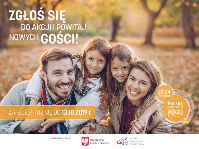 Polska zobacz więcej. Weekend za pół ceny - full image