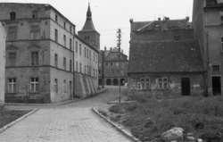 Skromna uliczka pierwszego burmistrza