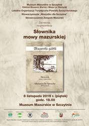 Prezentacja słownika mowy mazurskiej