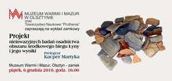 Warsztaty bałtyjskie. Badania osadnictwa środkowego biegu Łyny
