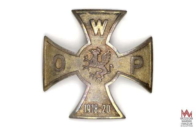Odznaka pamiątkowa Organizacji Wojskowej Pomorza 1918-1920 - full image
