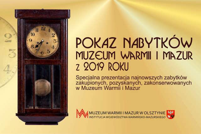 Pokaz nabytków z 2019 roku - full image