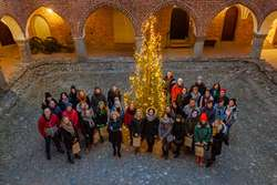 Goście z Ministerstwa w lidzbarskim zamku