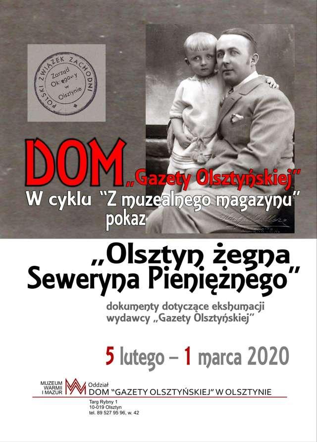 Z muzealnego magazynu: Olsztyn żegna Seweryna Pieniężnego - full image