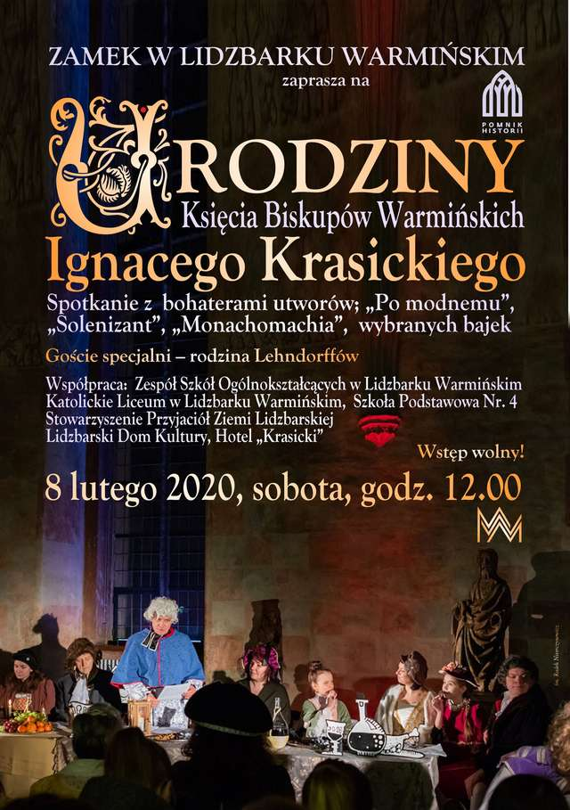 285. urodziny Ignacego Krasickiego - full image