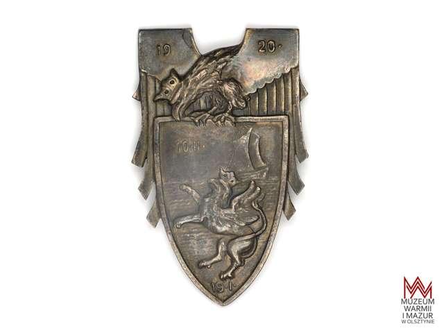Odznaka pamiątkowa Frontu Pomorskiego - full image