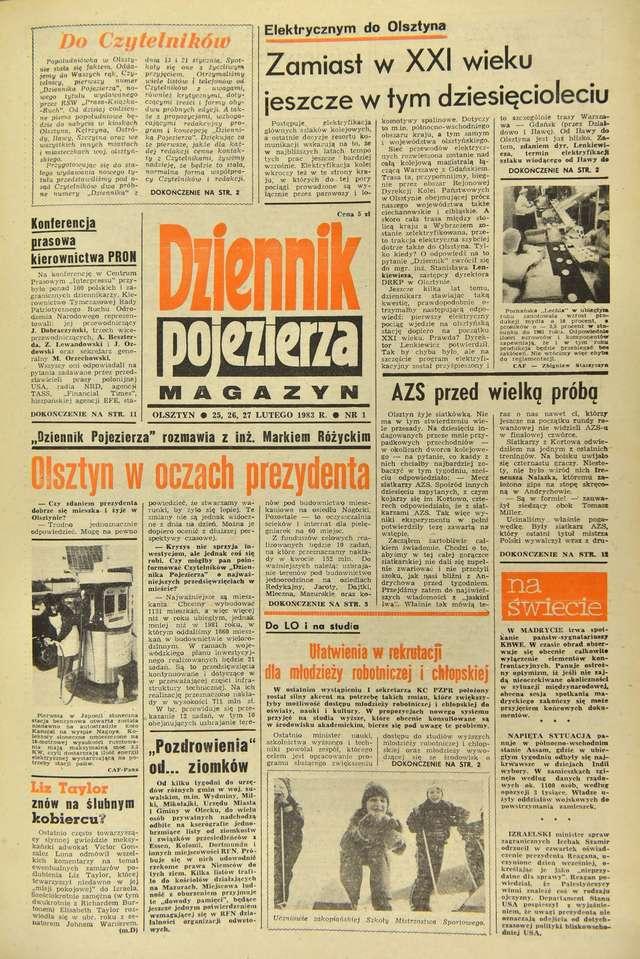 """Dziennik Pojezierza"" - full image"
