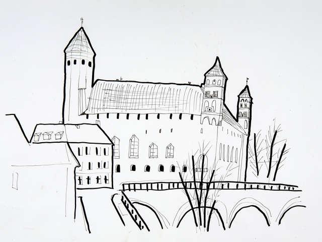 Muzeum na zamku w Lidzbarku Warmińskim - full image