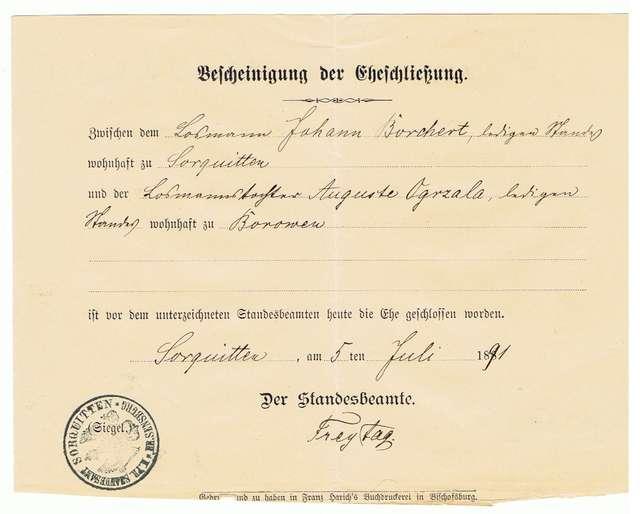 Zawarcie związku małżeńskiego – szczęście czy obowiązek kobiet w XIX wieku? - full image