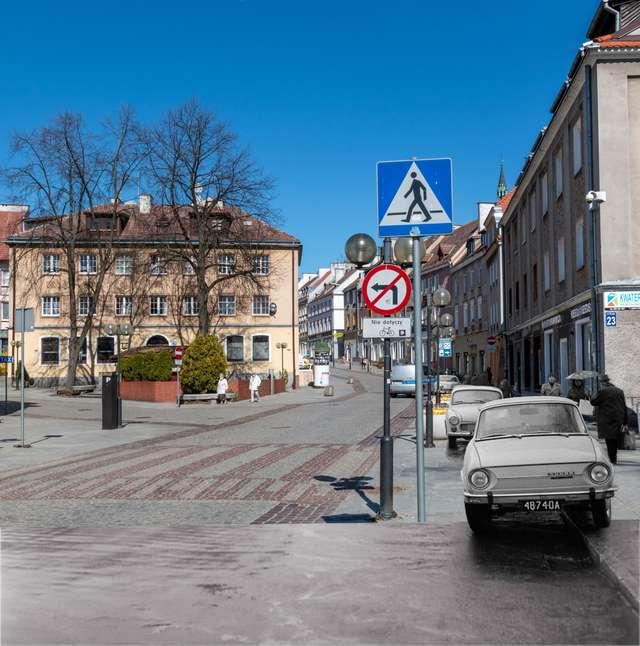 Ulica Prosta dawniej i dziś - full image