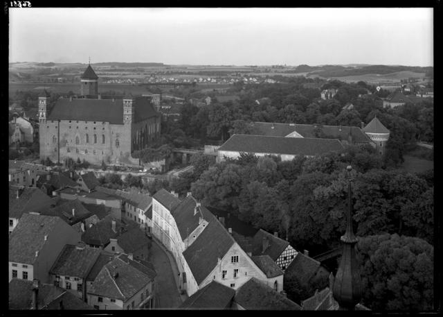 Heilsberg/LidzbarkWarmiński, panorama miasta, fot. Kranth, 1939 - full image