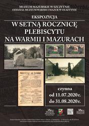 W setną rocznicę Plebiscytu na Warmii i Mazurach