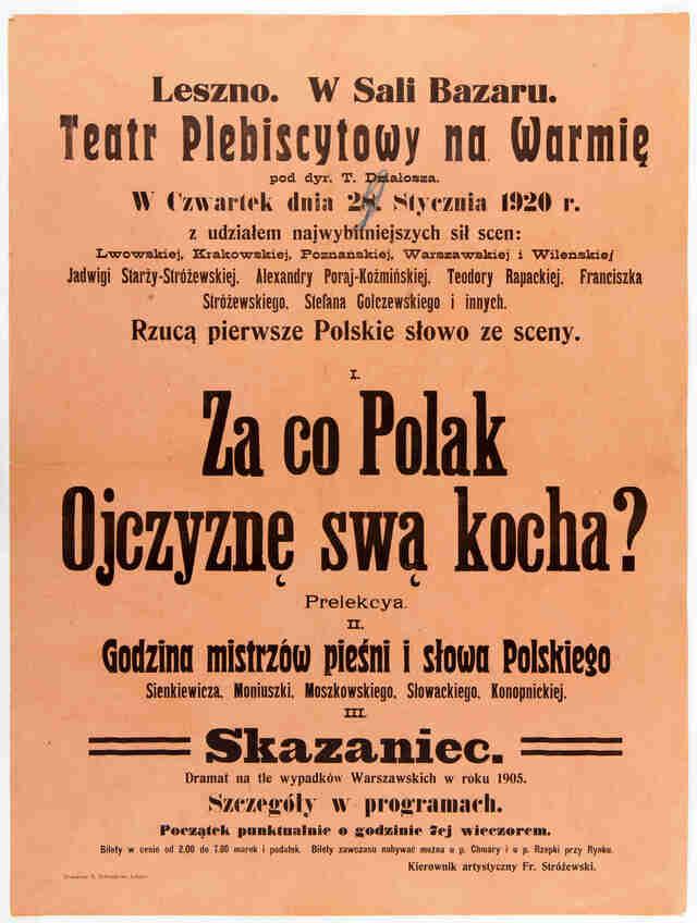 """""""Za co Polak Ojczyznę swa kocha?"""" - full image"""