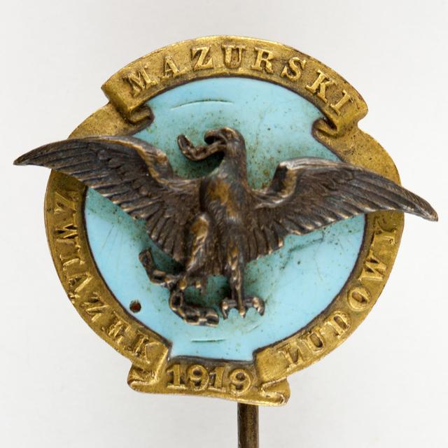Odznaka Mazurskiego Związku Ludowego - full image
