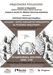 Promocja książki Samławki. Zespół cmentarzysk kurhanowych na Pojezierzu Mrągowskim