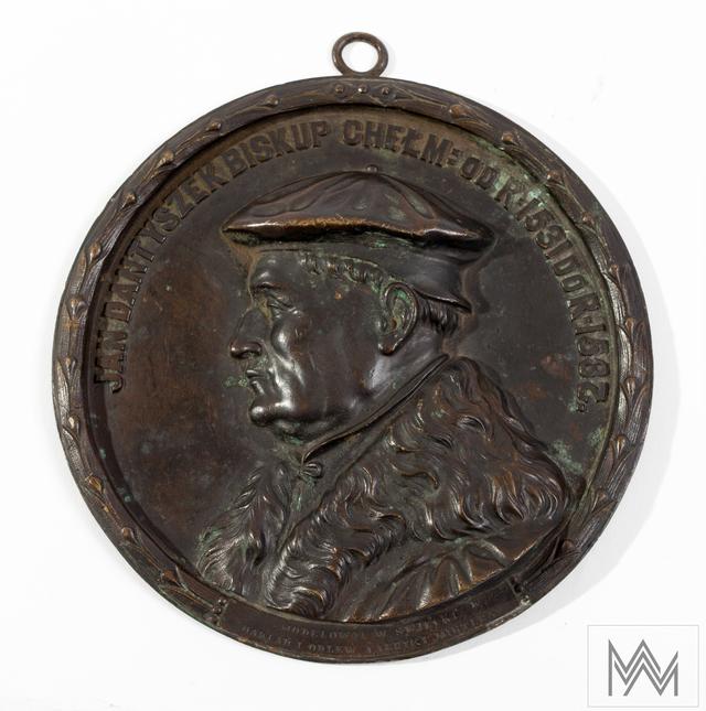 Medalion z wizerunkiem Jana Dantyszka - full image
