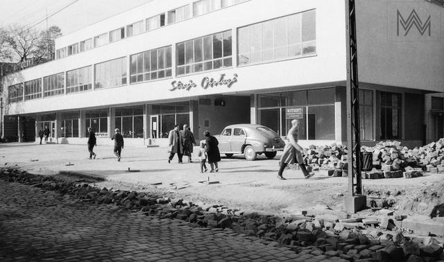 """Budynek """"Motozbytu"""", grudzień 1963 r. - full image"""