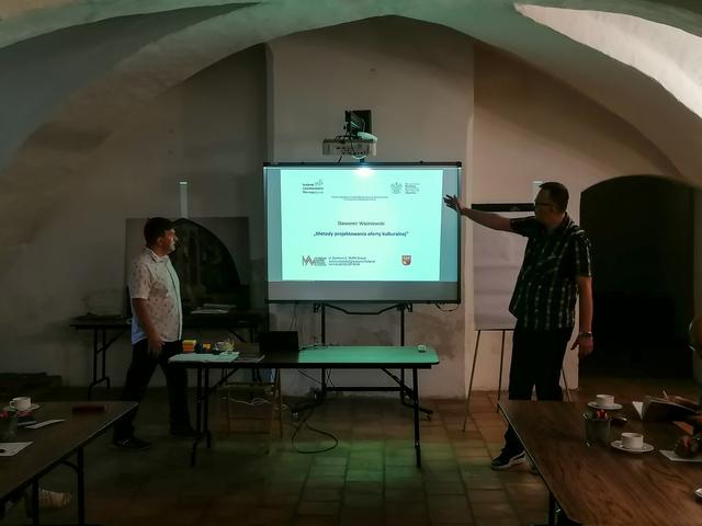Szkolenie Metody projektowania oferty kulturalnej - full image