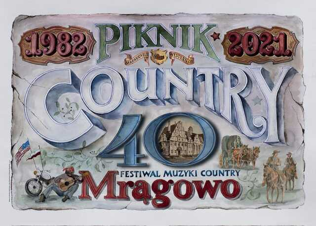 Wystawa z okazji 40. jubileuszowego Pikniku Country & Folk Mrągowo - full image
