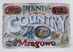 Wystawa z okazji 40. jubileuszowego Pikniku Country & Folk Mrągowo