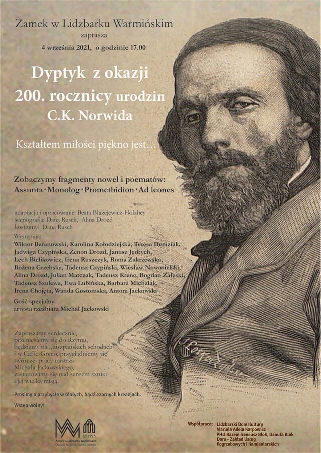 Jubileusz 200 urodzin C.K. Norwida - full image