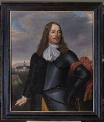 Portret Otto van Limburg Stirum Bronkhorst (ok. 1619- 27.08.1679) Lucas van Kaey 1660 r. Olej, płótno, 106 x 88 cm