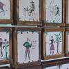 Największa kolekcja mazurskich kafli piecowych w regionie.